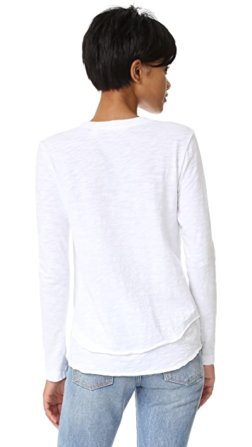 Wilt Mock Layer Tee