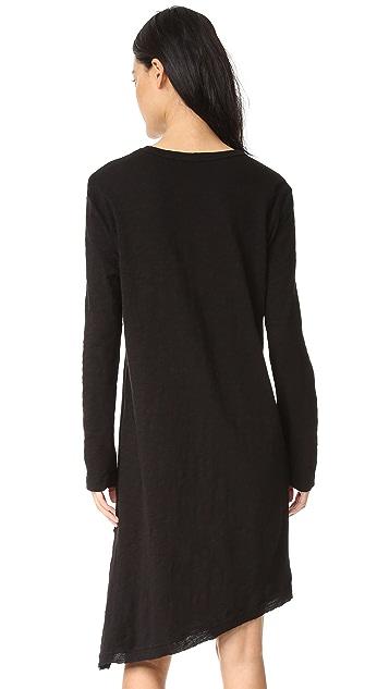 Wilt Extreme Slant Hem Dress