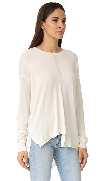 Wilt Slouchy Shifted Tie Back Sweater