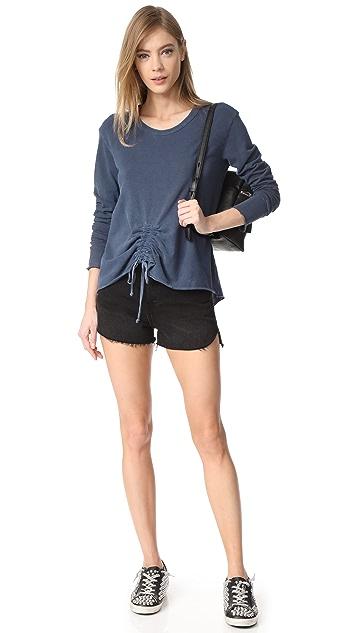 Wilt Drawstring Tie Front Sweatshirt