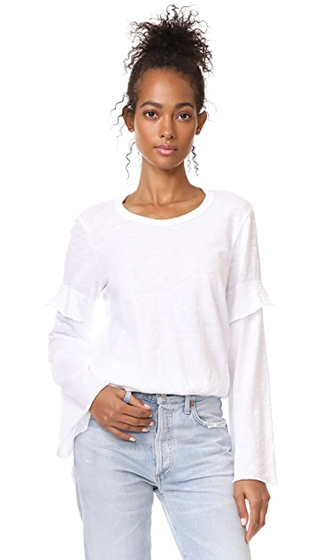 Wilt Easy Layered Sleeve Tee