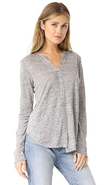 Wilt Linen Shifted Pullover