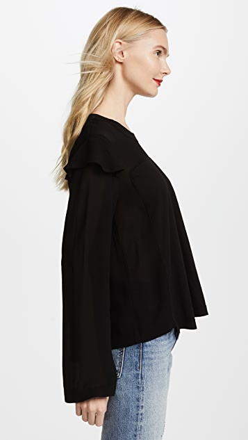 Wilt Georgette Layer Sleeve Tee