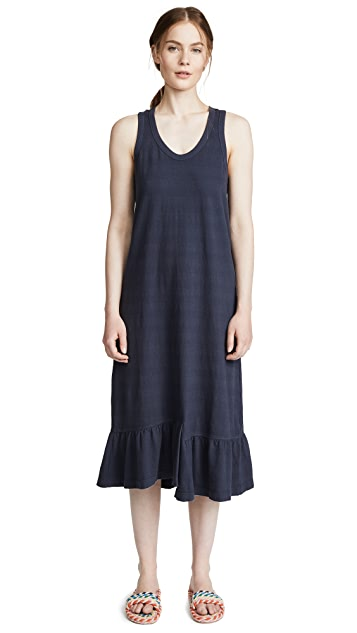 Wilt Flounce Hem Tank Dress