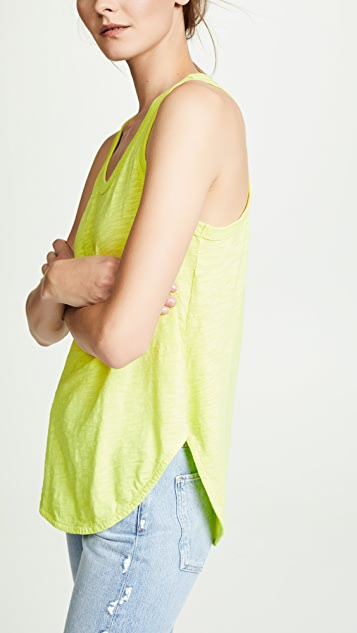 Wilt Shrunken Shirttail Tank Top