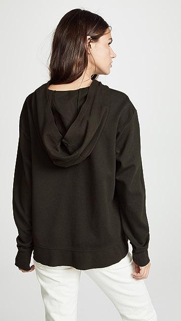 Wilt Slouchy Pocket Long Sleeve Hoodie