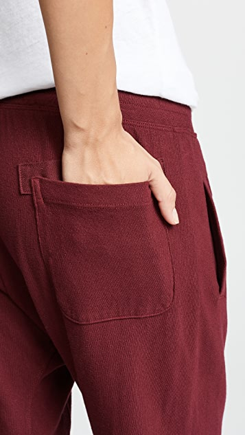 Wilt Shrunken Sweatpants w Rolled Rib Cuff