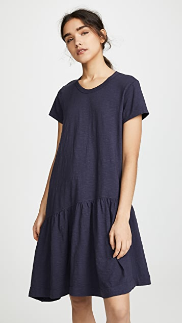 Wilt Slant Hem T Shirt Dress