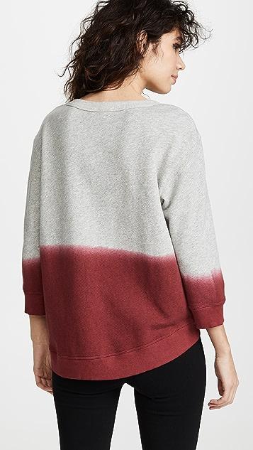 Wilt Color Dip Sweatshirt