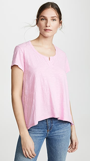 Wilt Short Sleeve High-Low Tee