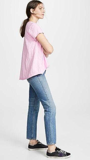 Wilt Асимметричная футболка с короткими рукавами