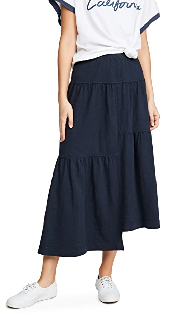 Wilt Long Tiered Skirt