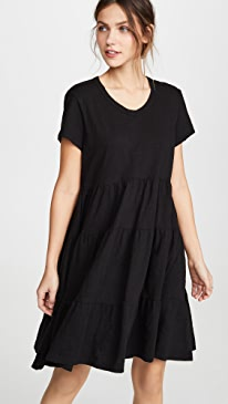 Tiered Trapeze Dress