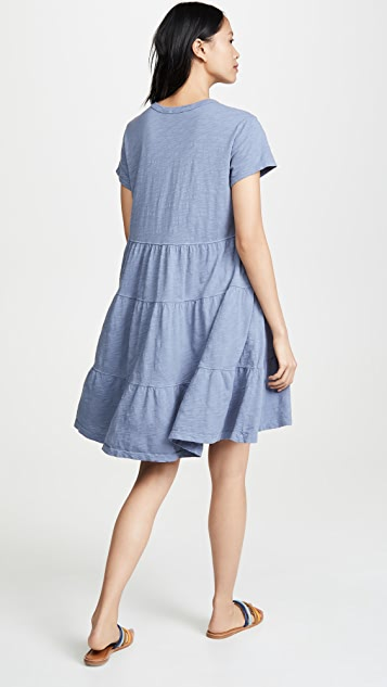 Wilt Tiered Trapeze Dress