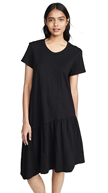 Wilt Платье с косым подолом и заниженной талией