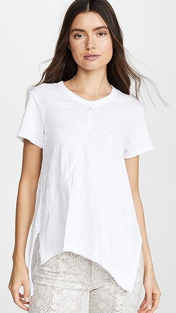 Wilt 皱缩圆领 T 恤