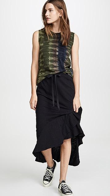 Wilt Длинная юбка со смещенным накладным элементом