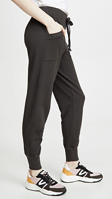 Wilt 扭褶口袋慢跑裤