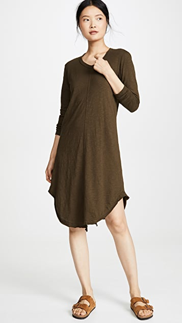 Wilt Slim Shifted Shirttail Dress