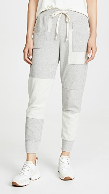 Wilt Mixed Patch Pocket Joggers