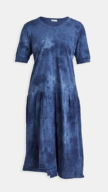 Wilt Tonal Tie Dye Easy Dress