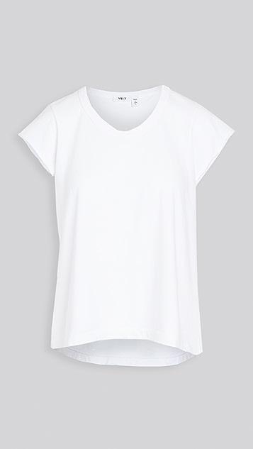狂野印花 复古平纹针织 T 恤