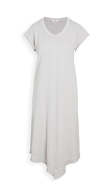 狂野印花 复古平纹针织面料连衣裙