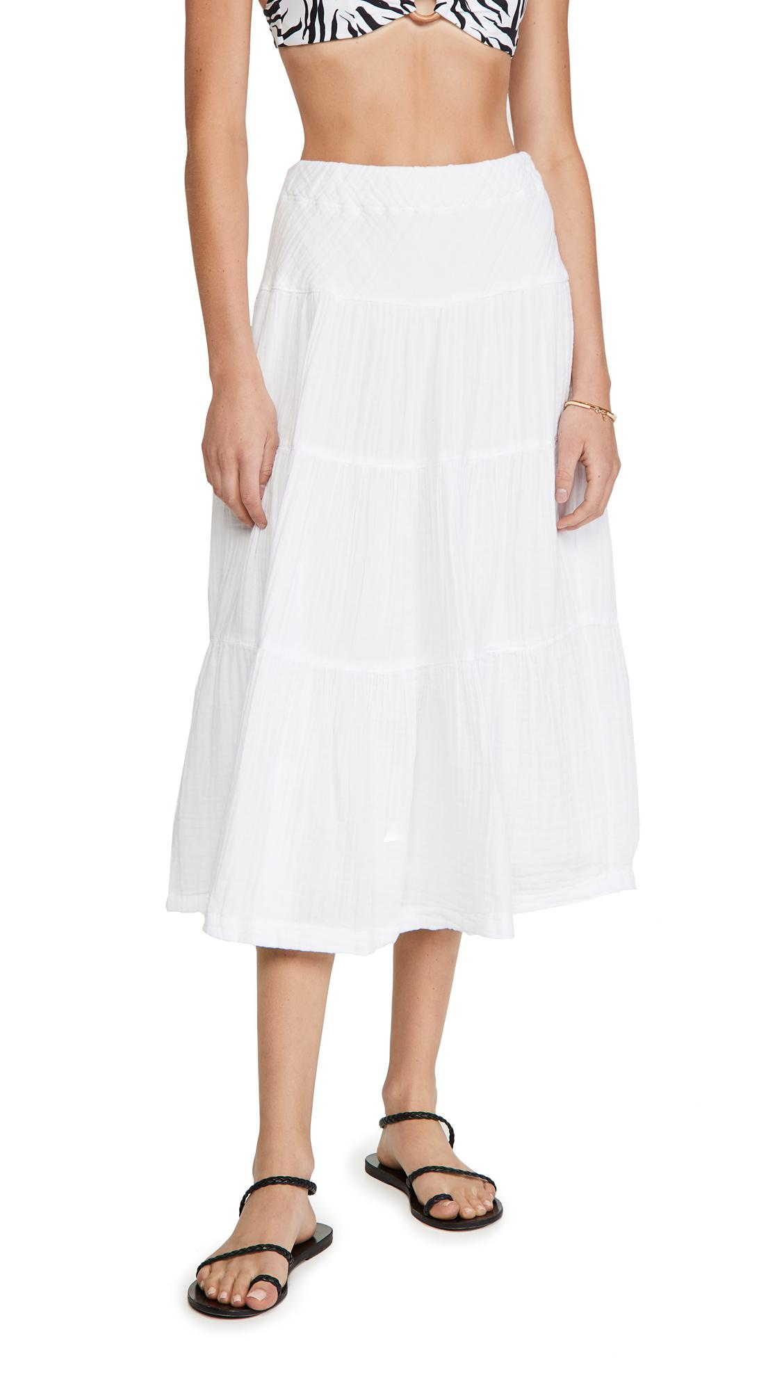 Wilt Tiered Long Skirt