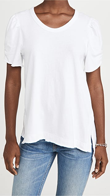 Wilt Shrunked Ruched Tee