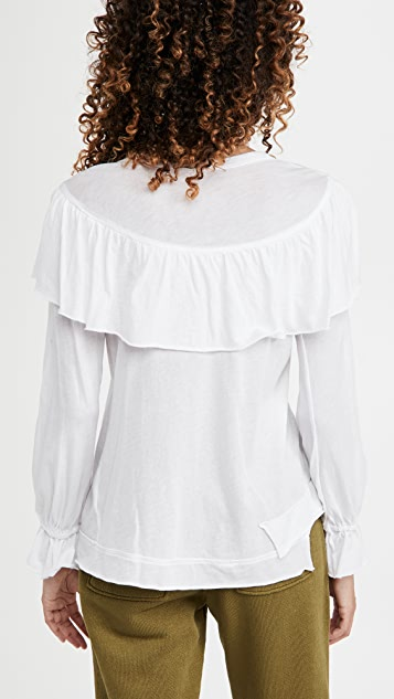 Wilt Ruffle Sweatshirt