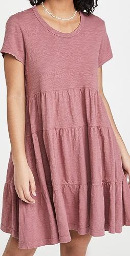Wilt - 层褶梯形连衣裙