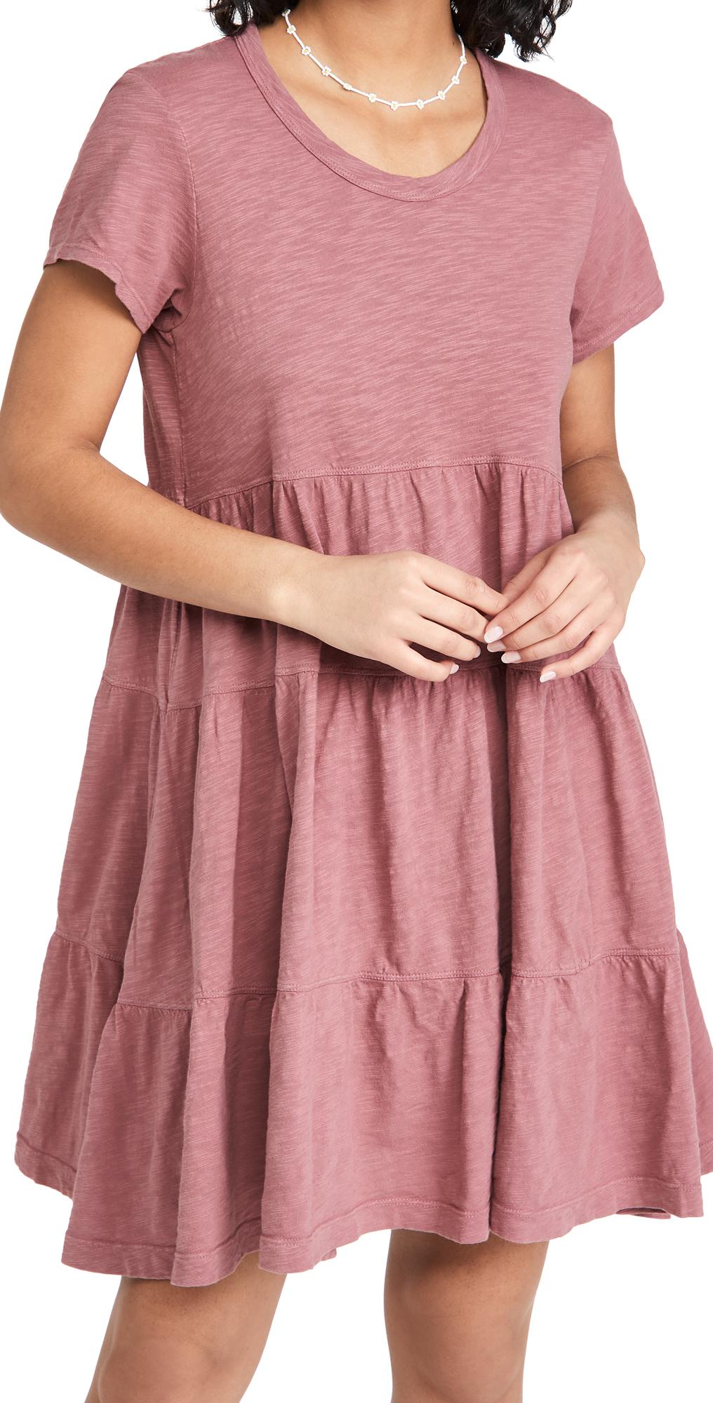 Wilt Tiered Trapeze Dress