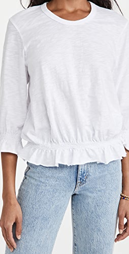 Wilt - Long Sleeve Tee Smocked Waist