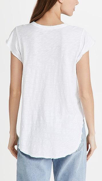 Wilt 荷叶袖 T 恤