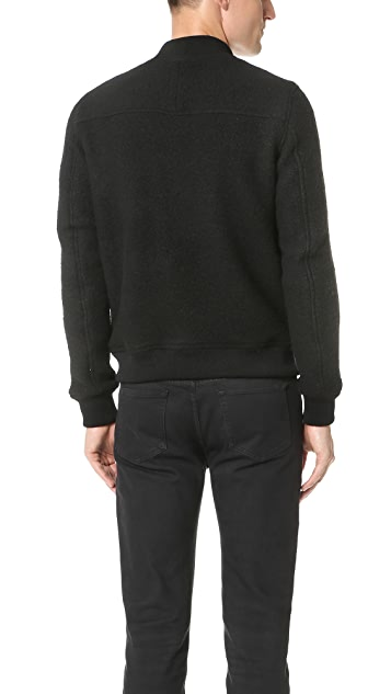 Wings + Horns Sherpa Wool Bomber