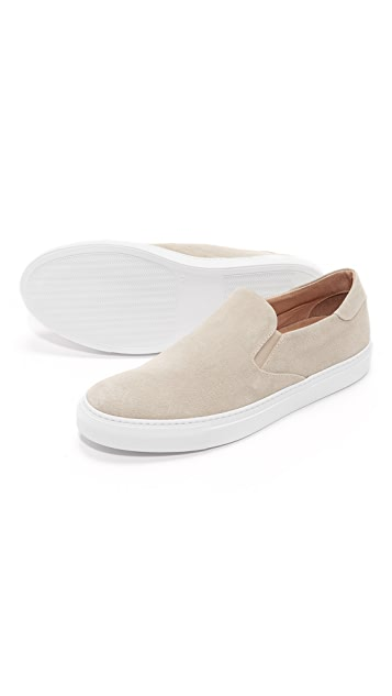 Wings + Horns Suede Slip Ons