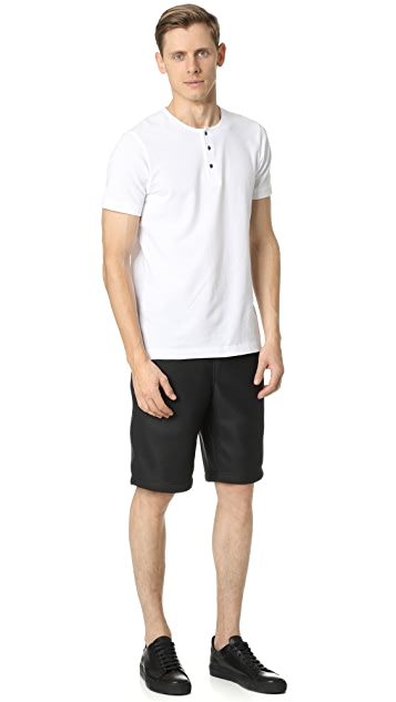 Wings + Horns Dimension Mesh Shorts