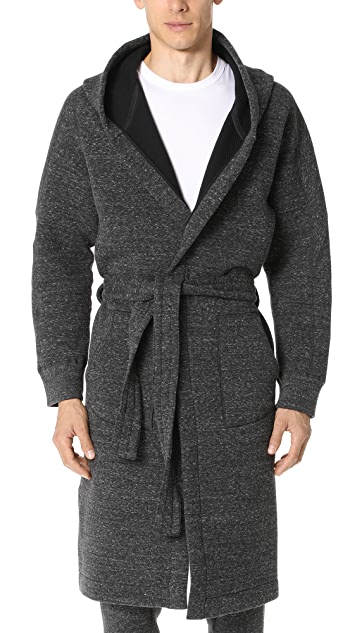 Wings + Horns Cabin Fleece Robe