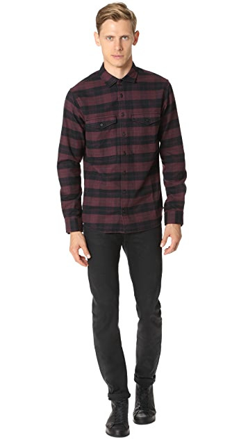 Wings + Horns Flannel Utility Shirt