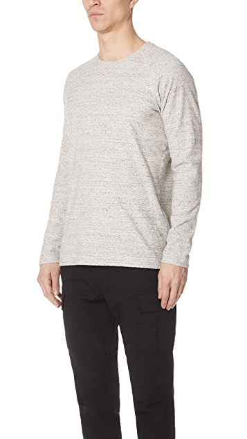 Wings + Horns Loop Knit Long Sleeve Sweatshirt
