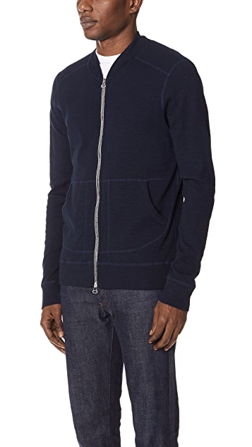 Wings + Horns 1x1 Slub Sweatshirt