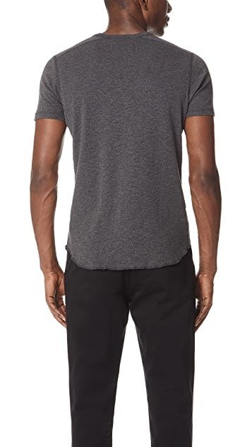 Wings + Horns 1x1 Slub Tee