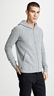 Wings + Horns Felted Wool Hoodie