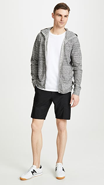 Wings + Horns Utility Cotton Cargo Shorts