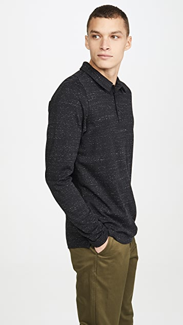 Wings + Horns Signals Long Sleeve Polo