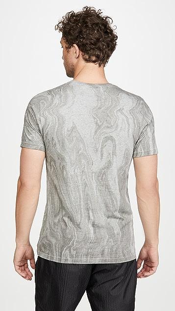 Wings + Horns Vertical Dye Pima T-Shirt