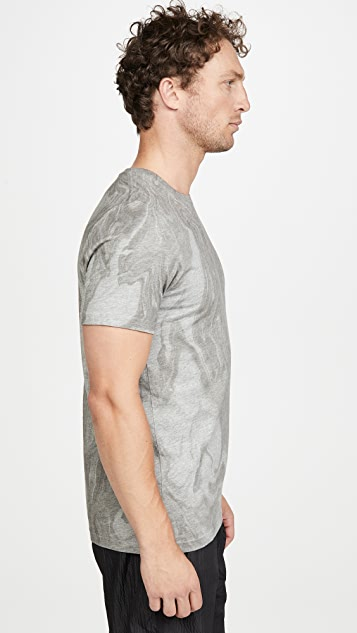 Wings + Horns Vertical Dye Pima T-Shirt