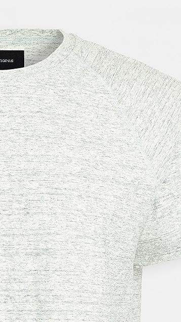 Wings + Horns Loop Knit Short Sleeve Tee