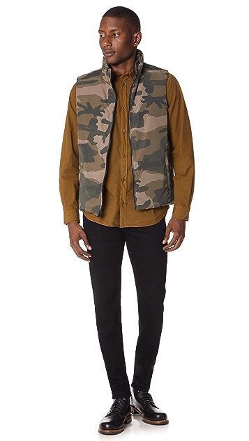 Woolrich John Rich & Bros. Camo Vest