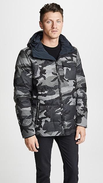 Woolrich John Rich & Bros. Reversible Camo Jacket